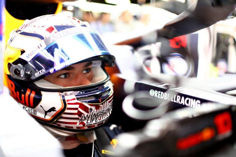 F1 | ガスリー「アップデートで一歩前進。ただ、メルセデスとフェラーリも大きな進化を遂げている」:レッドブル・ホンダ F1スペインGP金曜