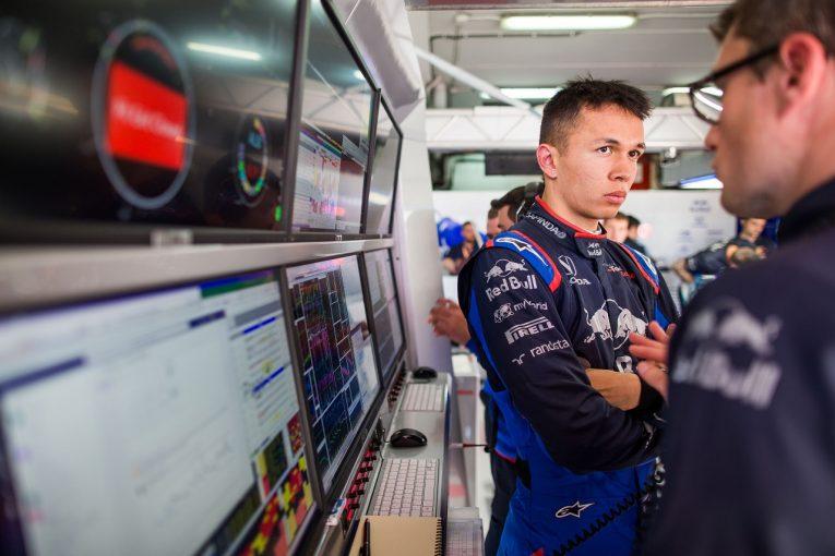 F1   アルボン「ペースは強力。アップデートの最適化をうまく進めることができた」:トロロッソ・ホンダ F1スペインGP金曜