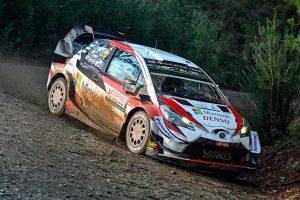 ラリー/WRC | WRCチリ:競技初日はトヨタ勢が速さみせ、タナクが首位。WRC2は勝田貴元が2番手に