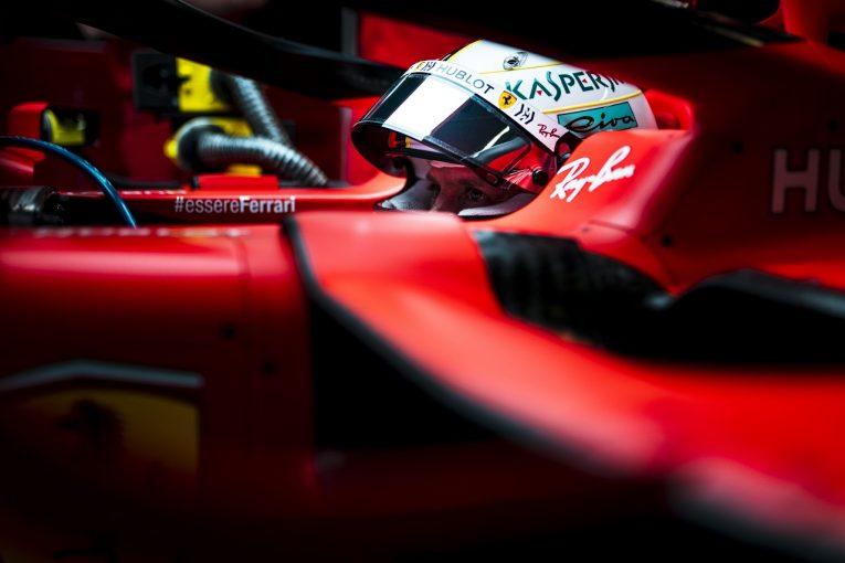 F1 | ベッテル「タイムシートが実態を表している。僕らは現時点で最速ではない」:フェラーリ F1スペインGP金曜