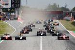 海外レース他 | FIA-F3第1戦スペイン レース1:シュワルツマンがポール・トゥ・ウィン。角田はポイント獲得、名取も完走