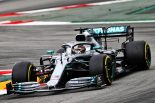 F1 | ハミルトンが最速。ラッセルのスピンで赤旗終了【タイム結果】F1第5戦スペインGP フリー走行3回目