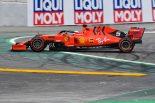 2019年F1第5戦スペインGP FP3セッション序盤にセバスチャン・ベッテルがスピン