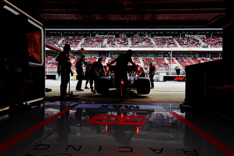 F1 | レッドブル・ホンダF1密着:予選でフェラーリの間に割って入ることに成功。決勝は3位表彰台争いが最大の焦点に