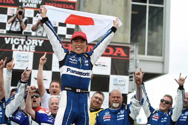 海外レース他   佐藤琢磨が2年ぶりの頂点を目指す「第103回インディ500」をGAORA SPORTSで生中継