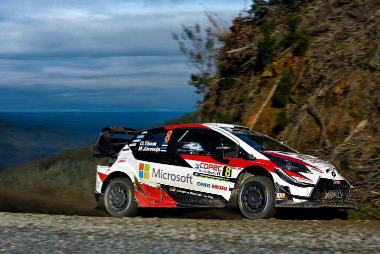 ラリー/WRC   WRCチリ:トヨタのタナクが30秒リードで首位堅持。WRC2勝田貴元がクラストップへ浮上