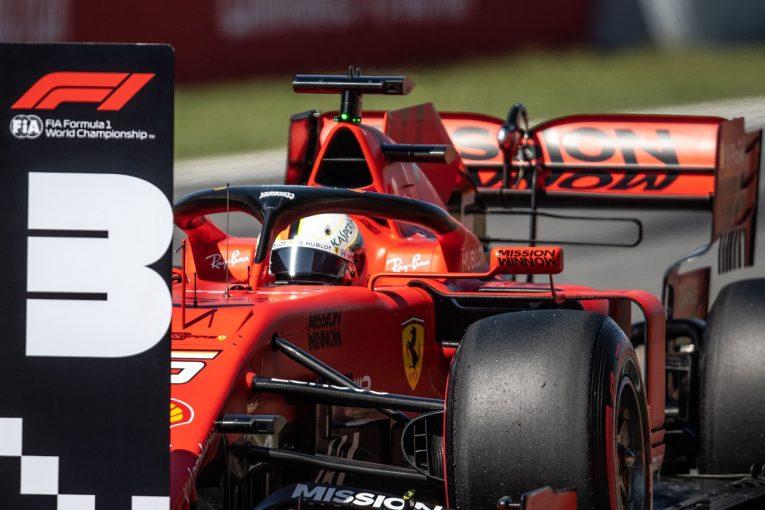 F1 | ベッテル予選3番手「決勝に向けた大胆なプランが奏功することに期待」:フェラーリ F1スペインGP土曜