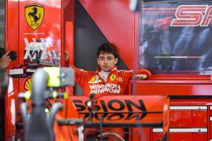F1   ルクレール、ミスの影響で5番手「縁石であれほどクルマが壊れるなんて思わなかった」:フェラーリ F1スペインGP土曜