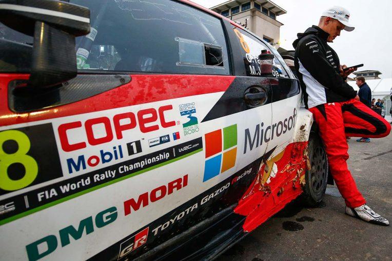 ラリー/WRC   総合首位走るタナク「SS12は雨と霧、ハードタイヤで特に難しく」/WRC第6戦チリ デイ2後コメント