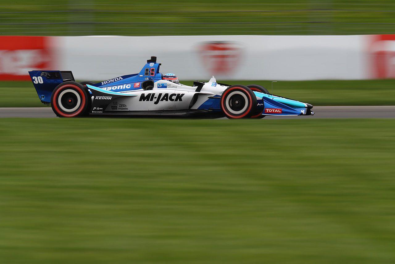 追い上げならず厳しいレースとなった琢磨「マシンは言うことをきかず精一杯の走り」