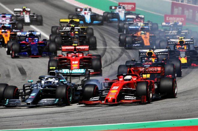 2019年F1第5戦スペインGP 決勝レース