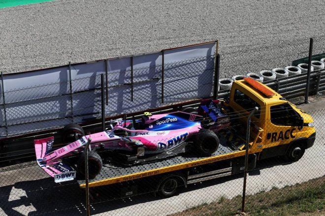 2019年F1第5戦スペインGP ランス・ストロール(レーシングポイント)