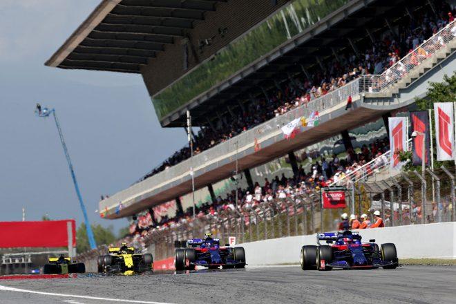 2019年F1第5戦スペインGP ダニール・クビアト、アレクサンダー・アルボン(トロロッソ・ホンダ)
