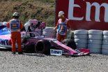 2019年F1第5戦スペインGP ランス・ストロールとランド・ノリスが接触しスピン。赤旗の原因に