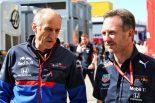 2019年F1第5戦スペインGP レッドブルのクリスチャン・ホーナー代表、トロロッソのフランツ・トスト代表