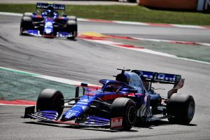 F1 | 2019年F1第5戦スペインGP ダニール・クビアトとアレクサンダー・アルボン(トロロッソ・ホンダ)