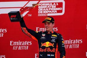 F1   フェルスタッペンが表彰台獲得「ホンダのパワーを使ってフェラーリを抑えきった。3位は実力どおりの結果」:レッドブル・ホンダ F1スペインGP日曜