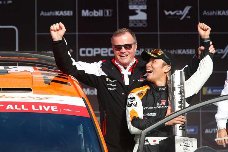 ラリー/WRC | トヨタ若手育成の勝田貴元、WRC第6戦チリで自身2度目のWRC2クラス優勝