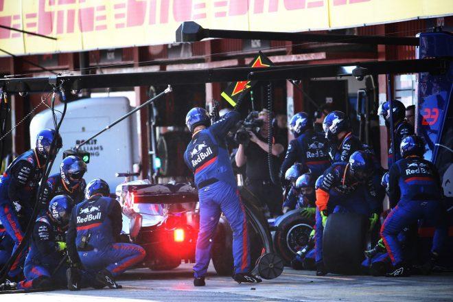 2019年F1第5戦スペインGP ダニール・クビアト(トロロッソ・ホンダ)
