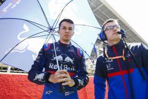 F1   アルボン11位「ダブル入賞を達成できなくて悔しい。問題を検証する必要がある」:トロロッソ・ホンダ F1スペインGP日曜
