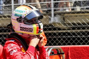F1   ベッテル4位「1コーナーにすべてを賭けて、結局表彰台を失った。フェルスタッペンを抜くチャンスはなかった」:フェラーリ F1スペインGP日曜