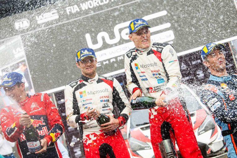 ラリー/WRC | WRC:トヨタ、ラリー・チリ初代王者に。マキネン「タナクとヤリスWRCのコンビは最強だった」