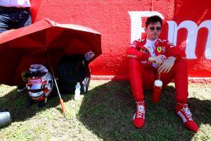 F1   ルクレール5位「セーフティカー出動で、フェルスタッペンとの勝負を諦め、戦略を変更」:フェラーリ F1スペインGP日曜