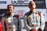 ラリー/WRC | 2019年2勝目のタナク「ここ数戦は残念な結果が続いていたから、完璧な週末を過ごして逆襲」/WRC第6戦チリ デイ3後コメント