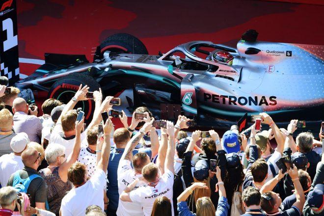 2019年F1第5戦スペインGP ルイス・ハミルトン(メルセデス)が今季3勝目