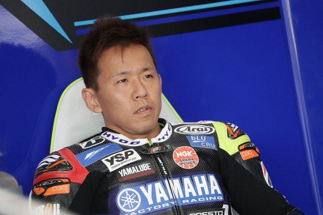 中須賀克行(YAMAHA FACTORY RACING TEAM)