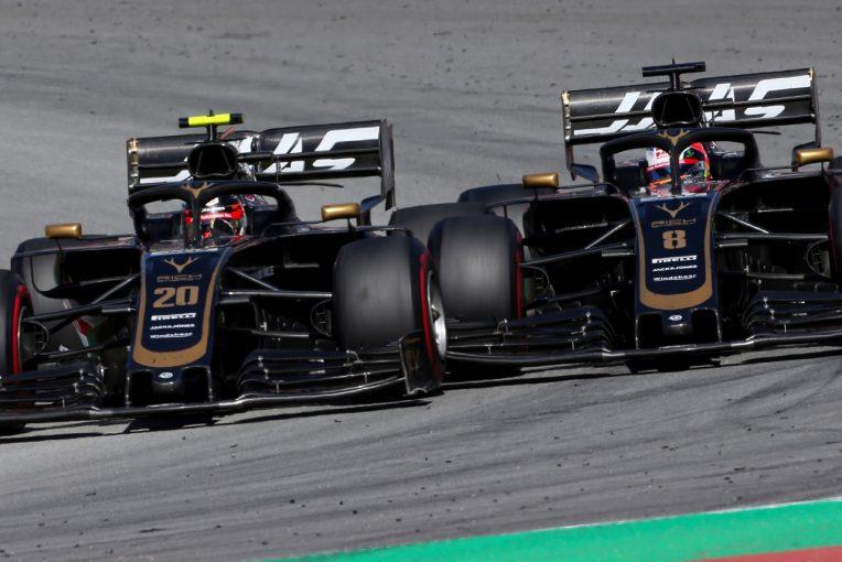 F1 | ハース、今季初のダブル入賞も、マグヌッセンとグロージャンが接触「わだかまりはない」とチーム代表:F1スペインGP日曜