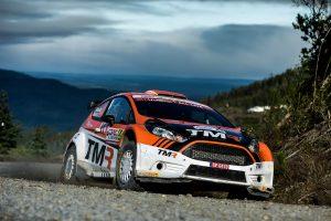 ラリー/WRC | 勝田貴元がドライブするフォード・フィエスタR5