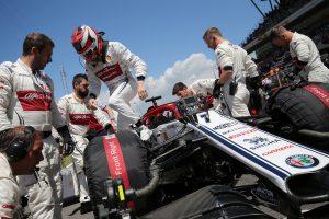 F1   ライコネンが今季初めてノーポイント「本当に厳しい週末だった。週明けのテストで問題を解明したい」:アルファロメオ F1スペインGP日曜