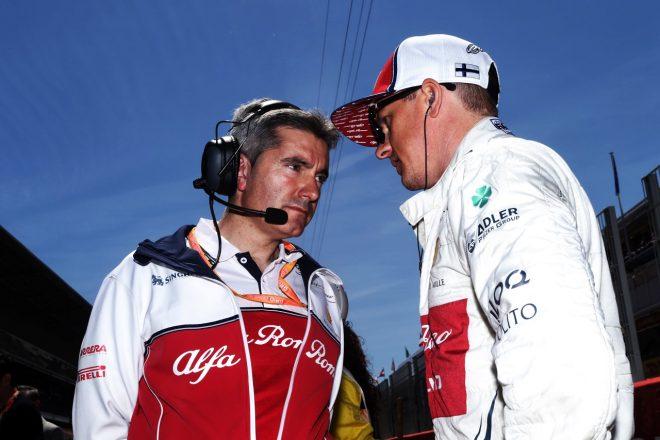 2019年F1第5戦スペインGP キミ・ライコネン(アルファロメオ)