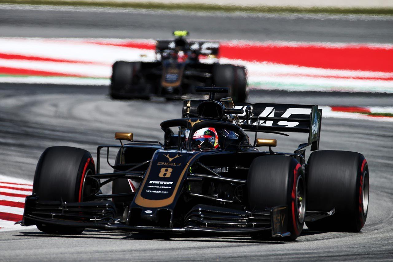 2019年F1第5戦スペインGP ロマン・グロージャン(ハース)