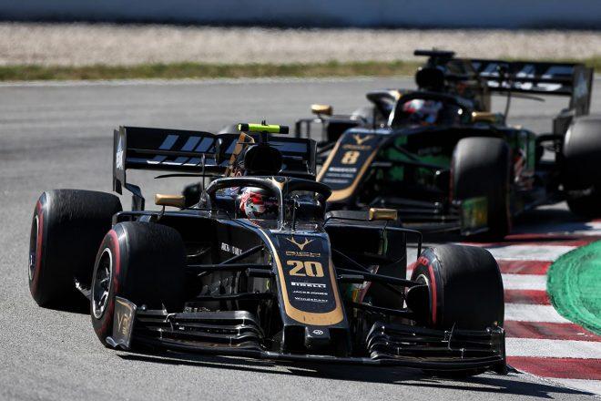 2019年F1第5戦スペインGP ケビン・マグヌッセン(ハース)