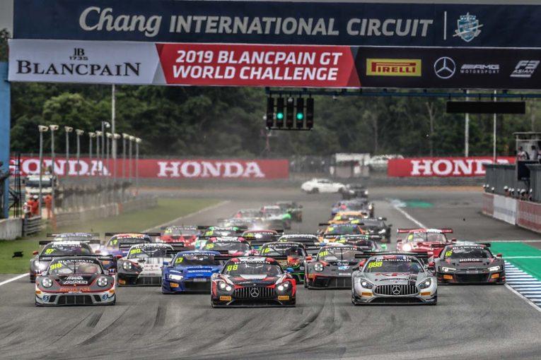ル・マン/WEC | ブランパンGTアジア、第4戦タイでインペラトーリ組ポルシェが勝利。BMW Team Studieは3勝目
