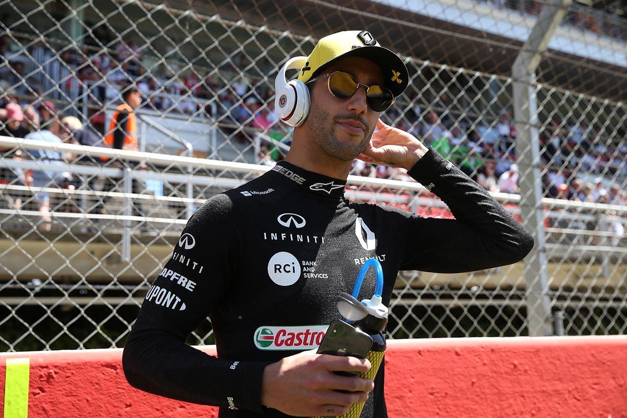 2019年F1第5戦スペインGP ダニエル・リカルド(ルノー)