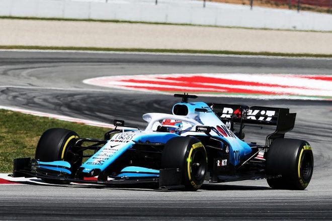 2019年F1第5戦スペインGP ジョージ・ラッセル(ウイリアムズ)