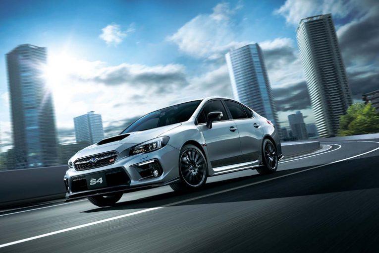 クルマ | スバル、よりスポーティに進化した『WRX S4/STI』改良モデル発表。6月27日発売