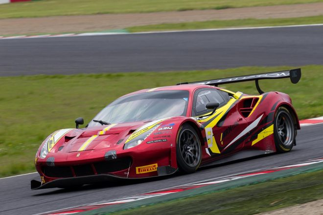 apr with ARN Racingのフェラーリ488 GT3