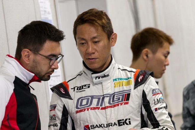 LM corsaのポルシェ911 GT3 Rをドライブした脇阪薫一