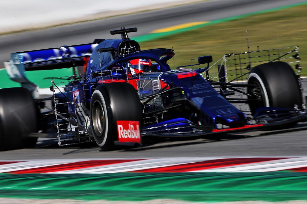 2019年F1バルセロナテスト ダニール・クビアト(トロロッソ・ホンダ)