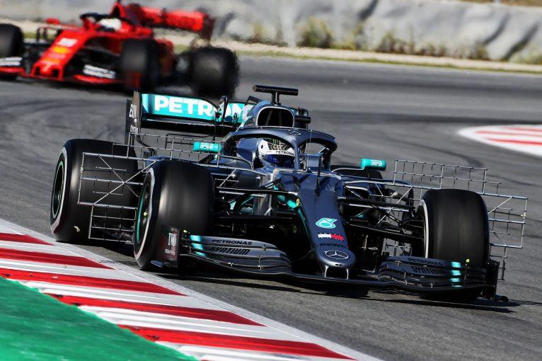 F1 | 【F1バルセロナテスト1日目・タイム結果】メルセデス&ボッタスが最速。レッドブル・ホンダのガスリーにトラブル