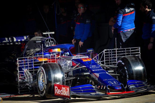 2019年F1バルセロナ・インシーズンテスト1日目 ダニール・クビアト(トロロッソ・ホンダ)