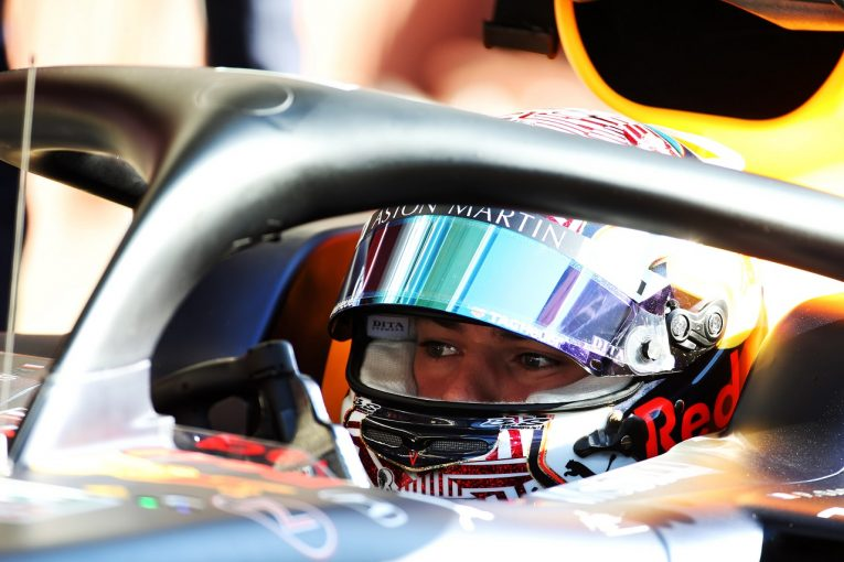F1 | レッドブル・ホンダのガスリー「最後にトラブルが発生したが、有意義な作業ができた」コース上でストップも翌日への影響はなし:F1テスト初日