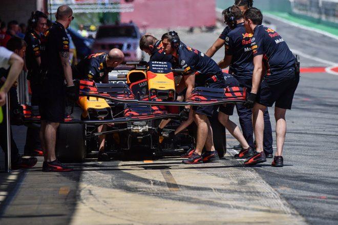 2019年F1バルセロナ・インシーズンテスト1日目 ピエール・ガスリー(レッドブル・ホンダ)