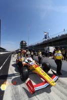 海外レース他 | スペシャルカラーでインディ500に挑む佐藤琢磨「午後はちょっとスピードが足りなかった」