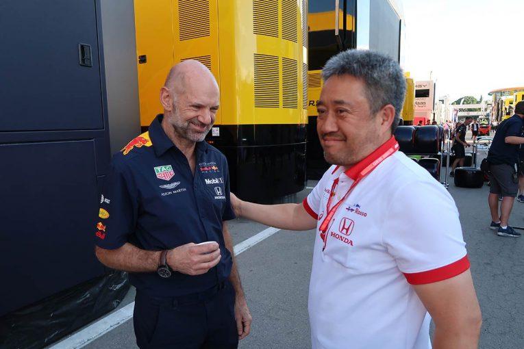 F1 | ホンダF1山本MDインタビュー:フェラーリを打ち破っての3位に、「もしかすると、開幕戦よりうれしい表彰台かも」
