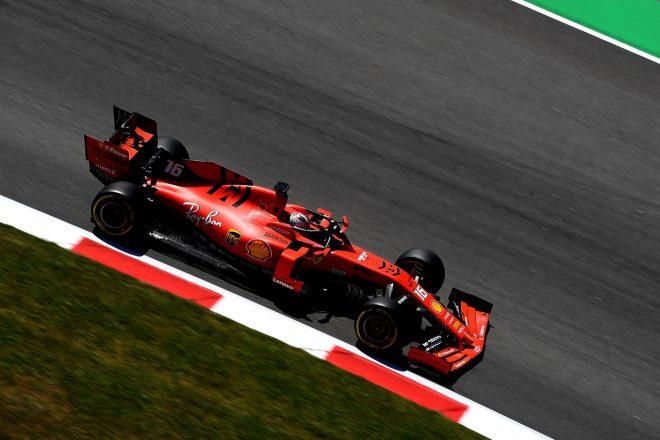 2019年F1バルセロナ・インシーズンテスト1日目 シャルル・ルクレール(フェラーリ)